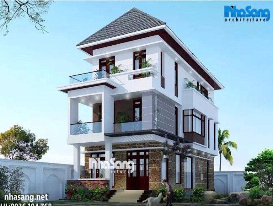 Dự án nhà phố tại Trà Vinh đã hoàn thiện bàn giao