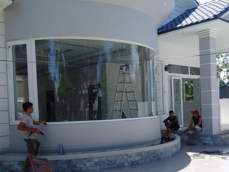 Dự án nhà ở biệt thự tại Trà Vinh vừa hoàn thiện