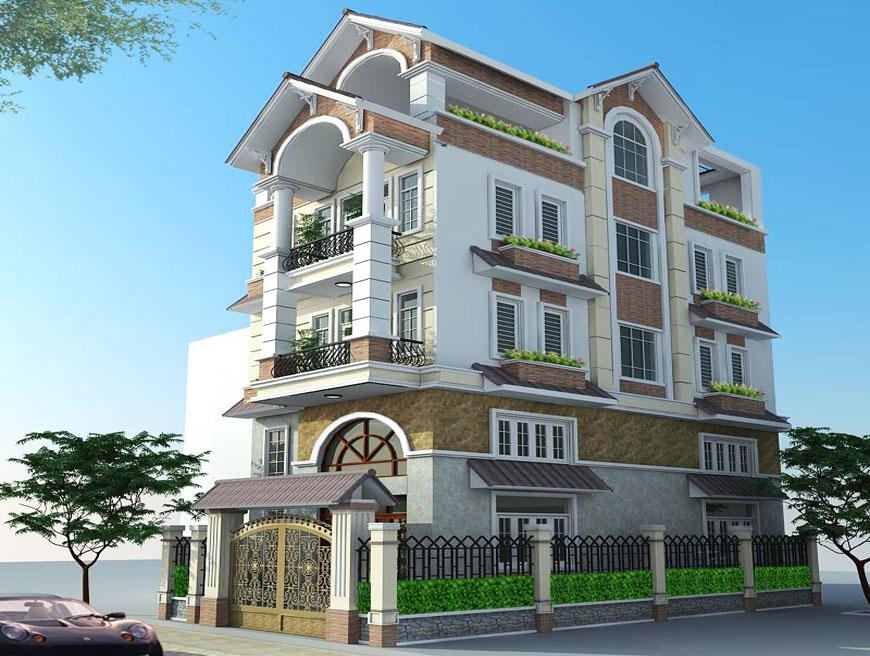Dự án nhà ở biệt thự tại Trà Vinh đã hoàn thiện bàn giao