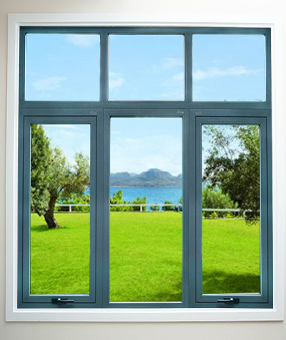 Xingfa Aluminum Windows Push Out