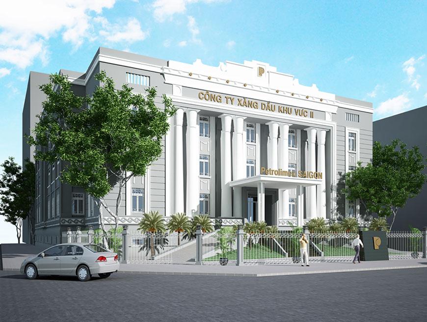 Dự án Tòa nhà Petrolimex SAIGON năm 2019